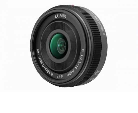 Panasonic H-H014AE-K - LUMIX G 14mm/F2.5 ASPH