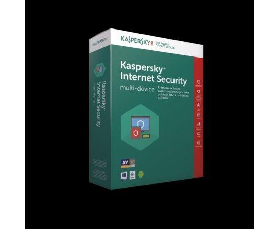 Kaspersky Internet Security CZ, 1 zařízení, 2 roky, obnovení licence, elektronicky