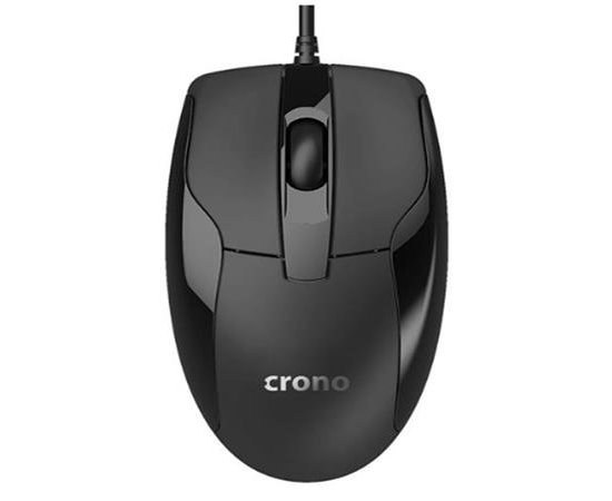 !! AKCE !! Crono CM645- optická myš, černá, USB
