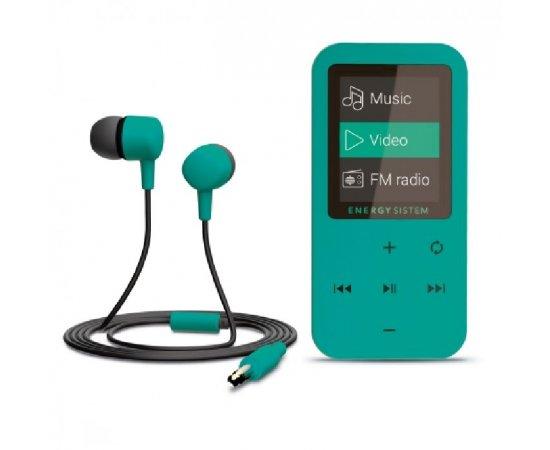 ENERGY MP4 Touch Mint (8GB, MicroSD, FM, sluchátka) + internetová televízia SledovanieTV na dva mesiace v hodnote 11,98 €