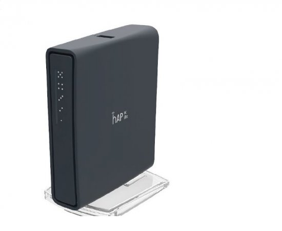 MikroTik RB952Ui-5ac2nD-TC, hAP ac lite tower, 5x LAN, 2.4+5Ghz, 802.11a/b/g/n/ac, USB, 1x PoE out