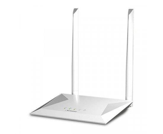 STRONG Wi-Fi router 300/ Wi-Fi standard 802.11/  300 Mbit/s/ 2,4GHz/ 4x LAN/ 1x WAN/ bílý