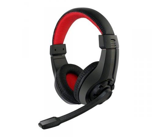 GEMBIRD Sluchátka s mik GHS-01 Gaming black