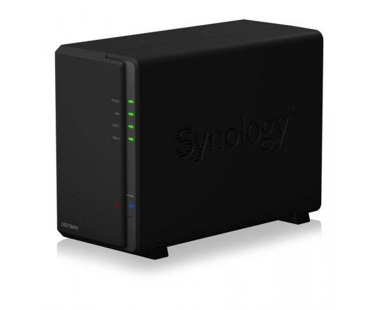 Synology NAS DS218play 2xSATA server, Gb LAN + internetová televízia SledovanieTV na dva mesiace v hodnote 11,98 €
