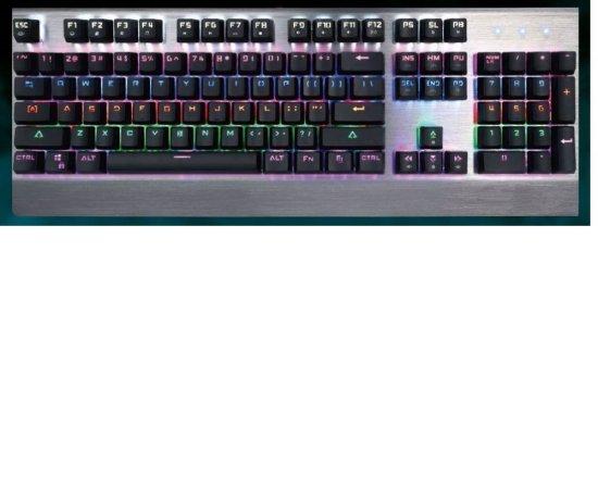 Crono CK3010 - podsvícená mechanická herní klávesnice, CZ + SK, USB