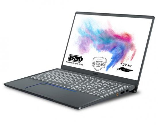 """MSI Prestige 14 A10RAS-084CZ /i7-10510U Comet lake/16GB/512GB SSD/MX330, 2GB/14"""" FHD IPS/Win 10 Pro + internetová televízia SledovanieTV na dva mesiace v hodnote 11,98 €"""