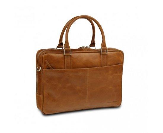 dbramante1928 Kožená taška Rosenborg business do 16 quot  (Zlato ... 3ef732b5666