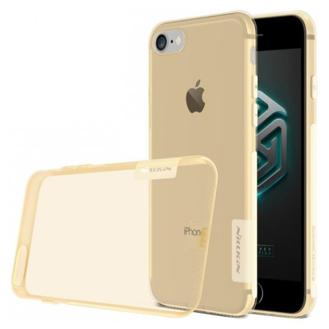 NILLKIN NATURE TPU CASE BROWN PRO IPHONE 7