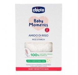 CHICCO Škrob detský ryžový do kúpeľa Baby Moments Sensitive 100 % bio 250 g