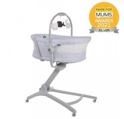 CHICCO Postieľka/lehátko/stolička Chicco Baby Hug 4v1 - Stone