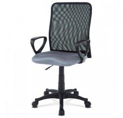 kancelárska stolička, látka MESH šedá / čierna + internetová televízia SledovanieTV na dva mesiace v hodnote 11,98 €