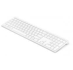 Bezdrôtová klávesnica HP Pavilion 600 - biela