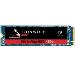 SSD 480GB Seagate IronWolf 510 NVMe M.2 PCIe G3 x4 + internetová televízia SledovanieTV na dva mesiace v hodnote 11,98 €