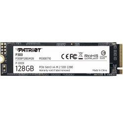 SSD 128GB PATRIOT P300 M.2 2280 PCIe NVMe + internetová televízia SledovanieTV na dva mesiace v hodnote 11,98 €
