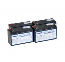 Bateriový kit AVACOM AVA-RBC24-KIT náhrada pro renovaci RBC24 (4ks baterií)