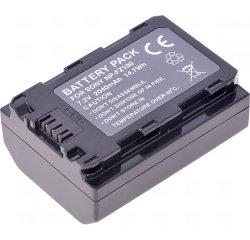 Baterie T6 power Sony NP-FZ100, 2040mAh, 14,7Wh, černá + internetová televízia SledovanieTV na dva mesiace v hodnote 11,98 €