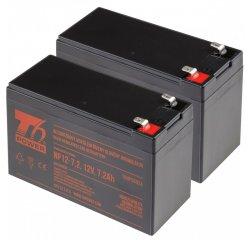 T6 Power RBC48, RBC109, RBC123, RBC22, RBC32, RBC33, RBC5, RBC9, RBC113 - battery KIT