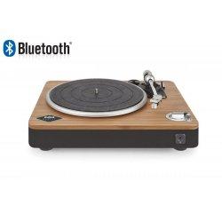 MARLEY Stir It Up Bluetooth - Signature Black, retro gramofon z přírodních materiálů