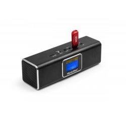 Technaxx přenosné Bluetooth rádio a reproduktor MusicMan, DAB/DAB+/FM, černý (BT-X29)
