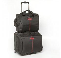 "Verbatim Frankfurt - kufr  s kolečky na notebook 15,6"", černý"