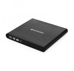 DVD/CD Externí mechanika, USB 2.0, černá, bez SW NERO, Verbatim