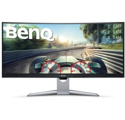 """BENQ MT EX3501R 35"""",3440x1440,300nits,2500:1,12ms,HDMI,DP,USB,USB-C,HP jack;HDMI 1.4 cable: mDP to DP,USB Type-C,Black"""