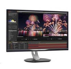 """Philips MT IPS LED 31,5"""" 328P6AUBREB - IPS panel, 2560x1440, 450cd, D-Sub, DP, HDMI, USB-C, repro, RJ45, pivot"""