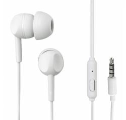 Thomson slúchadlá s mikrofónom EAR3005, silikónové štuple, biele