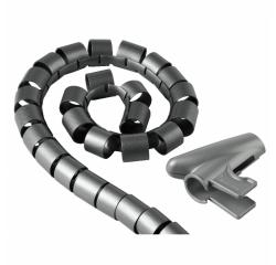 Hama trubica pre vedenie káblov, 1,5 m, 30 mm, strieborná