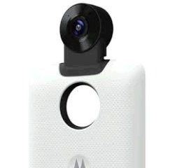 Motorola Mods kamera 360 biela + internetová televízia SledovanieTV na dva mesiace v hodnote 11,98 €