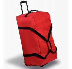 Cestovní taška na kolečkách MEMBER'S TT-0035 - červená