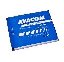 Avacom batéria do mobilu pre Sony Ericsson, Sony Ericsson K550i, K800, W900i, Li-Ion, 3.7V, GSSE-W900-S950A, 950mAh, 3.5Wh