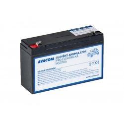 Avacom náhradná batéria (olovený akumulátor) pre Peg Pérego 6V, 12Ah, PBPP-6V012-F1A