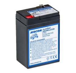 Avacom olovený akumulátor F1 pre Peg Pérego