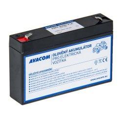 Avacom náhradná batéria pre Peg Pérego 6V, 7Ah, PBPP-6V007-F1A