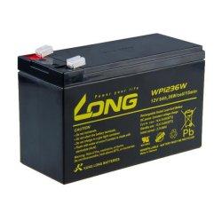 Long olovený akumulátor HighRate F2 pre UPS, EZS, EPS, 12V, 9Ah, PBLO-12V009-F2AH, WP1236W