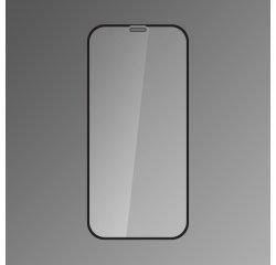 Ochranné sklo Q sklo iPhone XR čierne, fullcover, full glue