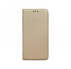 Knižkový obal iPhone 11 Pro Max zlatý, vzorovaný