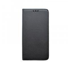 Knižkové puzdro Samsung Galaxy A71 čierne, vzorované