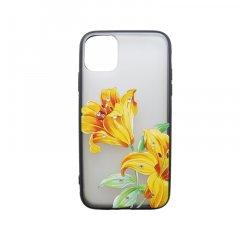 Plastové puzdro iPhone 11 kvetinový vzor 6