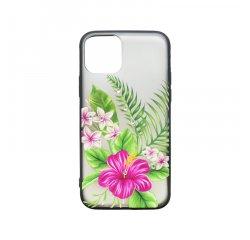 Plastové puzdro iPhone 11 kvetinový vzor 10