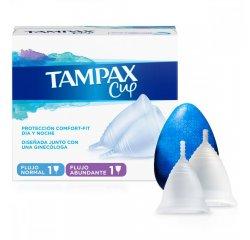 TAMPAX CUP MULTIPACK NORMAL FLOW + HEAVY FLOW