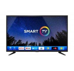 SENCOR SLE 42FS601TCS H.265 (HEVC) + darček internetová televízia sledovanieTV na dva mesiace v hodnote 11,98 €