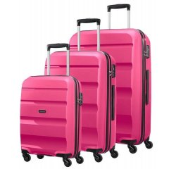 SAMSONITE AMERICAN TOURISTER SPINNER 85A70004 SET S.M.L 4WHEELS LUGGAGE
