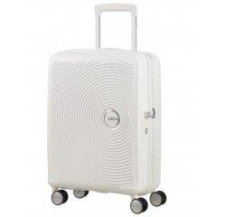 SAMSONITE AMERICAN TOURISTER 32G05001 SOUNDBOX-55/20 TSA, EXP JUST LUGGAGE, PURE WHITE 32G-05-001