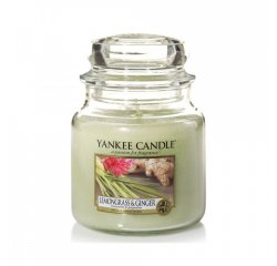 YANKEE CANDLE 1507705E SVIECKA LEMONGRASS AND GINGER/STREDNA