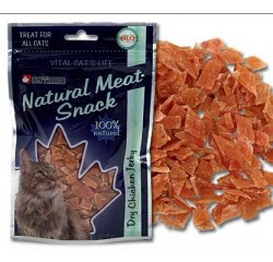 ONTARIO CAT SNACK DRY CHICKEN JERKY 70 G