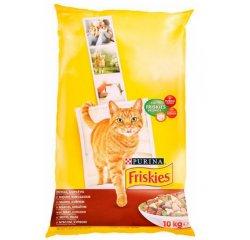 FRISKIES CAT GRAN MASO,KURA,ZELENINA 10KG
