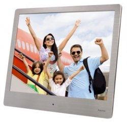 "HAMA 118560 DIGITALNY FOTORAMCEK STEEL BASIC ""8SLB"", 20,32 CM (8""), STRIEBORNY + internetová televízia SledovanieTV na dva mesiace v hodnote 11,98 €"