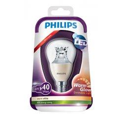 PHILIPS LED P48 40W WW E14 CL WARMGLOW